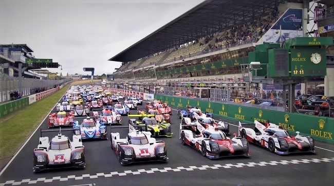 24 h of Le Mans race track 2019