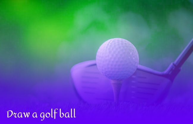 British Open: How to draw a golf ball