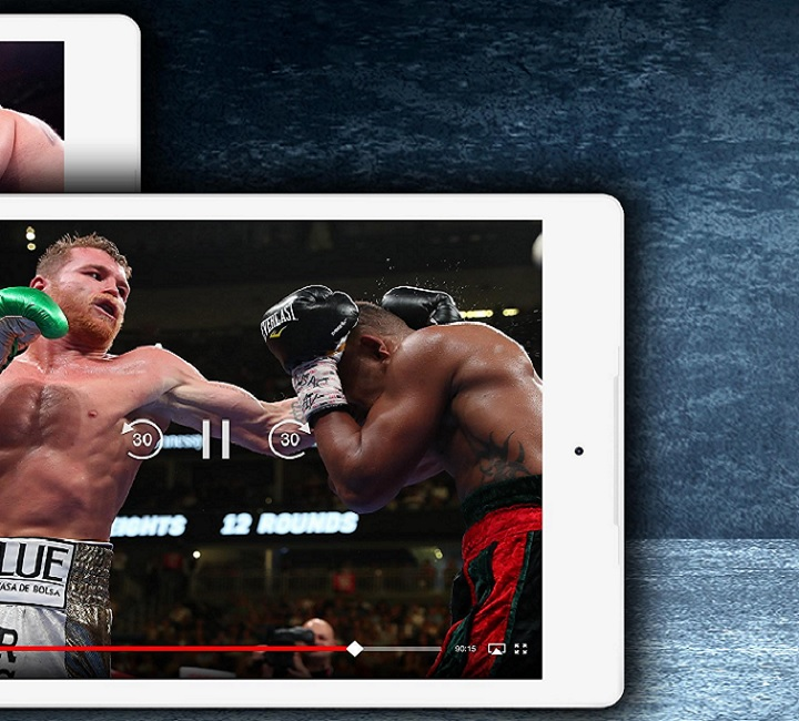 stream Boxing on Android phone
